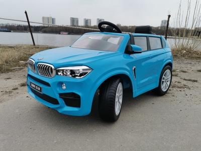 BMW X5M. Детский автомобиль на резиновых колесах.