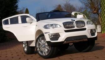 Детский электромобиль BMW-X6 (ЛИЦЕНЗИОННАЯ МОДЕЛЬ) с дистанционным управлением