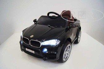 Детский джип BMW O006OO VIP на резиновых колесах.
