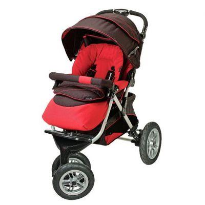 Трехколесная прогулочная детская коляска Capella S-901