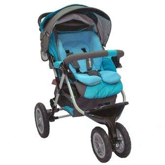 Трехколесная прогулочная детская коляска Capella S-901W