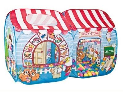 Игровой домик Магазин + 100 шариков CBH-15