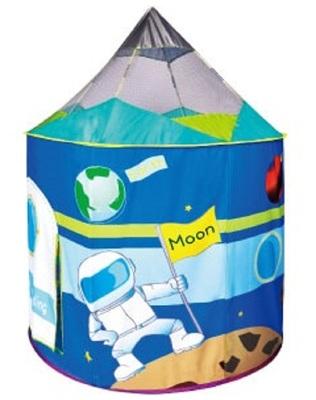 Игровой домик Космический корабль + 100 шариков CBH-17