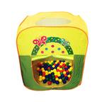 Игровой домик Квадратный + 100 шариков CBH-21