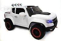 Детский электромобиль-джип Chevrole X111XX на резиновых колесах.