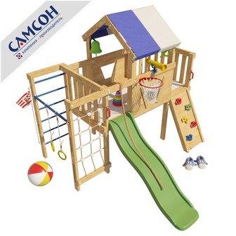 """Детский игровой чердак для дома и дачи Самсон """"Винни""""."""