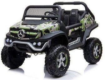 Mercedes-Benz Unimog Concept P555BP 4WD. Лицензионная модель на резиновых колесах.