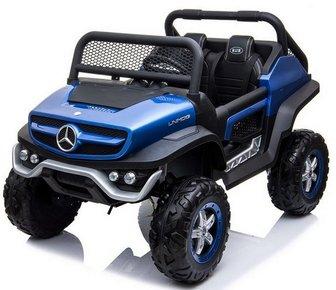 Джип Mercedes-Benz Unimog Concept P555BP 4WD. Лицензионная модель на резиновых колесах.