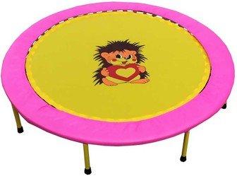 "Складной мини-батут 40"" диаметр 102 см (розово-желтый, зелено-желтый, оранжево-желтый)."