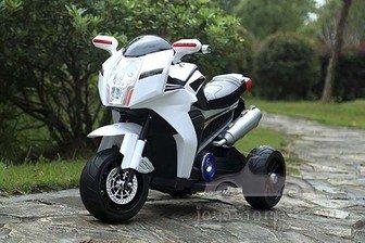 Детский электромотоцикл Joy Automatic Sport bike на резиновых колесах