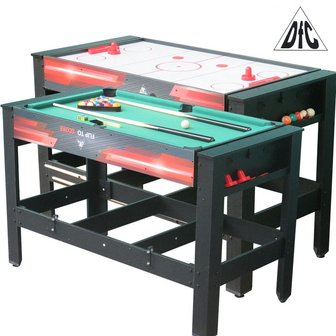 Игровой стол DFC DRIVE 2 в 1 трансформер (аэрохоккей, бильярд)