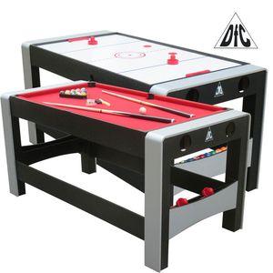DFC FERIA. Игровой стол-трансформер 2в1: аэрохоккей, бильярд.