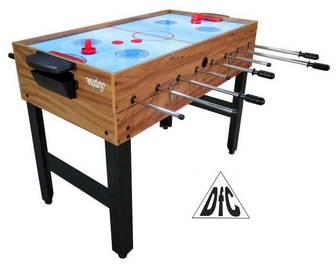 DFC SURPRISE. Игровой стол-трансформер 3в1: бильярд/хоккей/футбол.