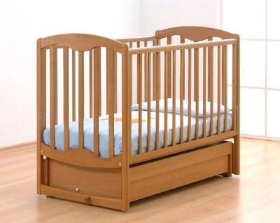 Детская кроватка Гандылян Диана с поперечным маятниковым механизмом