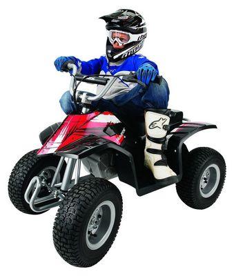 Razor Dirt Quad. Детский электроквадроцикл с ручным акселератором.