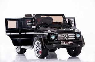 Джип DMD-G55 Mercedes-Benz AMG 12V(открывающиеся дверки, резиновые колеса)
