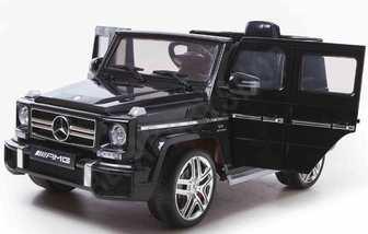 Детский джип DMD-G63 Mercedes-Benz AMG 12V(открывающиеся дверки, резиновые колеса, амортизация).