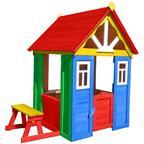 Можга домик Солнечный. Деревянный, мультицвет. (Р910-М1, М2)