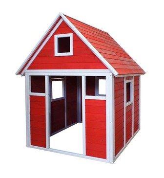 Детский домик игровой Большой окрашенный CHBIG01