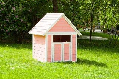 Детский домик игровой Малый окрашенный CHMAL01