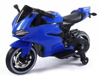 Ducati 12V. Детский электромотоцикл с подсветкой колес.