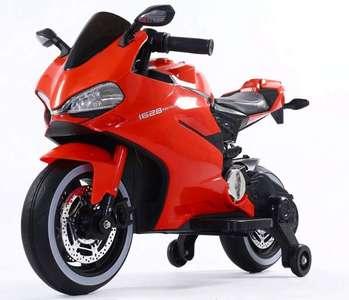 Детский электромотоцикл Ducati 12V н резиновых колесах.