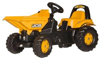 Rolly Toys Dumper Kid JCB 024247. Детский педальный трактор.