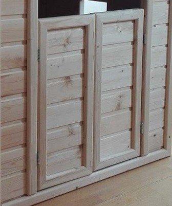 Двери окрашенные/неокрашенные для Малого и Среднего домиков CHDVE01/CHDVE01NO