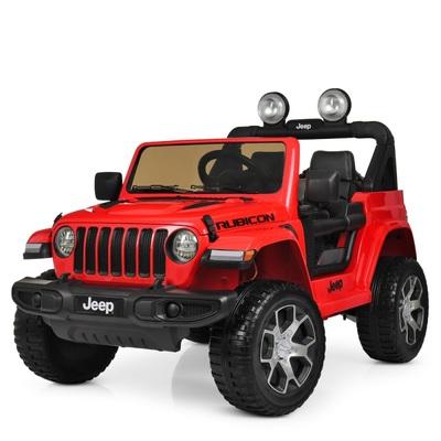 Джип Jeep Rubicon. Детский полноприводный автомобиль на резиновых колесах.