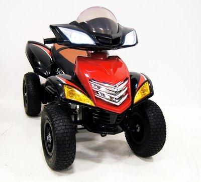 Детский квадроцикл Е005КХ-А на резиновых надувных колесах