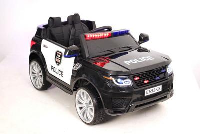 Полиция Е555КХ. Детский джип на резиновых колесах.