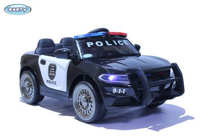 Dodge Police Б007OС. Детский автомобиль на резиновых колесах.
