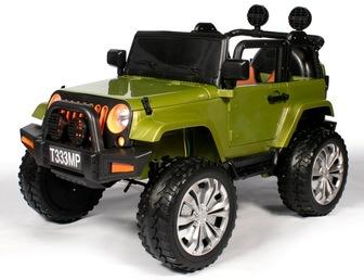 JEEP T333MP. Детский автомобиль на резиновых колесах.