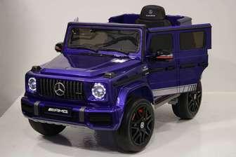 Mercedes-AMG G63 K999KK. Детский внедорожник на резиновых колесах.