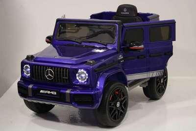 Mercedes-AMG G63 4WD K999KK. Детский полноприводный джип на резиновых колесах.