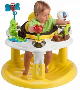 Evenflo Игровой центр ExerSaucer Bounce & Learn Bee (6161949)