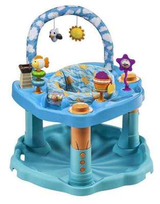Evenflo Игровой центр ExerSaucer Bounce & Learn Day At The Beach (61611439)