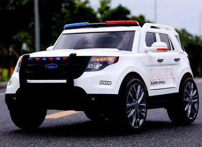 BARTY Ford ПОЛИЦИЯ Т111МР. Детский электромобиль на резиновых колесах.