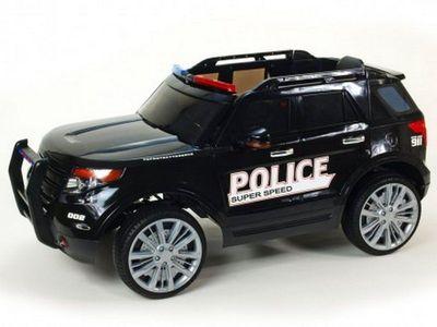 BARTY Ford ПОЛИЦИЯ Т111МР. Детский электромобиль-джип на резиновых колесах.