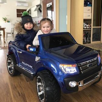 Детский электромобиль Ford Ranger NEW с дистанционным управлением