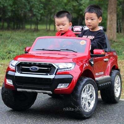 Детский электромобиль Ford Ranger 4х4 с МОНИТОРОМ