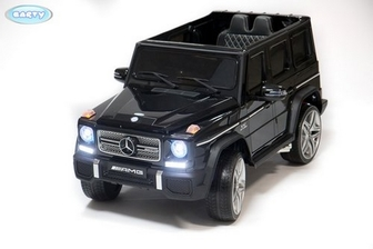 Электромобиль-джип BARTY Mercedes-Benz G65 AMG комплектации LUX