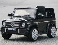 Электромобиль-джип Mercedes-Benz-G-65-LS528 лицензионная модель на резиновых колесах.