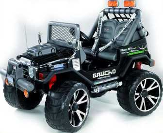Peg-Perego GAUCHO SUPER POWER (black)0502