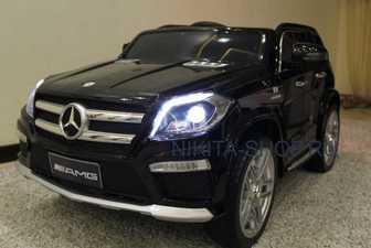 Mercedes-Benz GL63. Детский электромобиль Mercedes-Benz GL63 на резиновых колесах.
