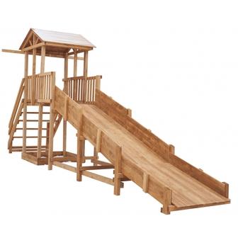 Детская площадка Можга Спортивный  городок с зимней горкой и широкой лестницей (СГ-Р919-Р921)