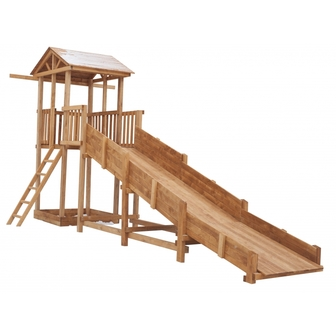 Детская площадка Можга Спортивный  городок с зимней горкой и узкой лестницей (СГ-Р919-Р918)