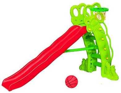 Горка Горошина + баскетбольное кольцо SL-16