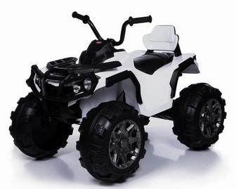 Детский электроквадроцикл 09 на больших резиновых колесах