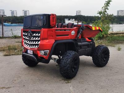 Грузовик YAP 9984 4х4. Детский автомобиль на резиновых колесах.